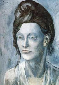 Picasso - Woman with Her Hair in a Small Bun - 1904