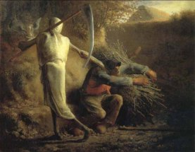 Millet - Death & the Woodcutter - 1859