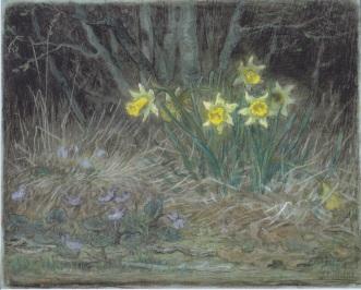 Millet - Narcissi and Violets - 1867