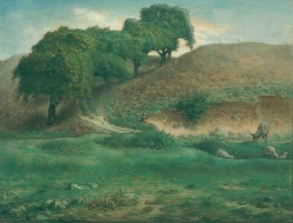 Millet - Path through the Chestnut Trees, Cusset - 1867