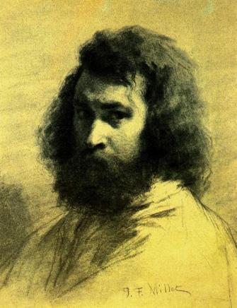 Millet - Self-Portrait - nd