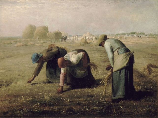Millet - The Gleaners - 1857 (2)
