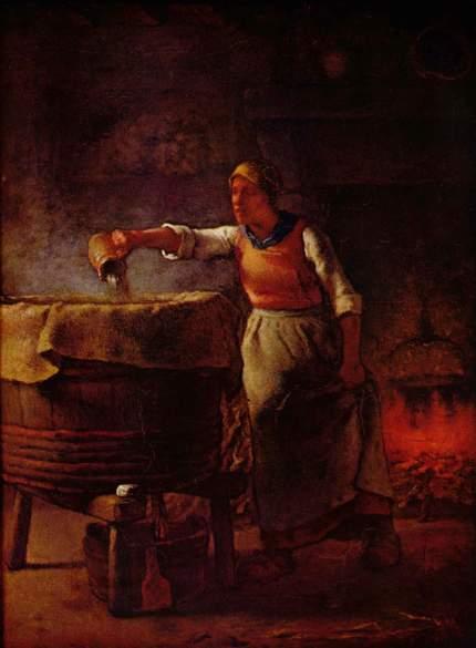 Millet - The Laundress - 1861