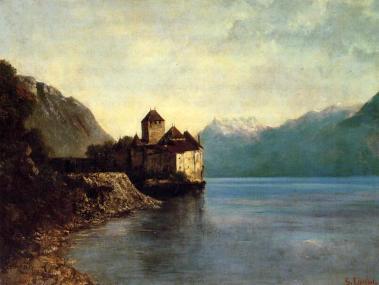 Courbet - Chateau du Chillon - 1874