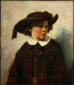 Courbet - Portrait of a Young Girl - 1857