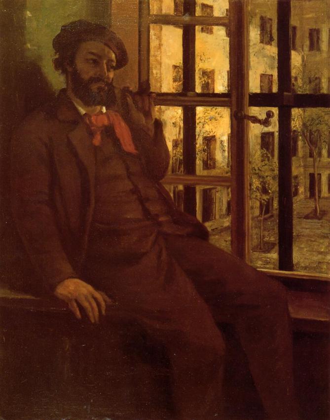 Courbet - Self-Portrait at Sainte Pelagie - 1873