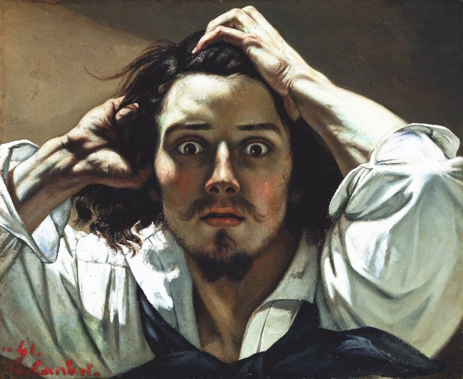 Courbet - Self Portrait (Desperate Man) - 1845