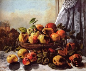 Courbet - Still Life Fruit - 1872