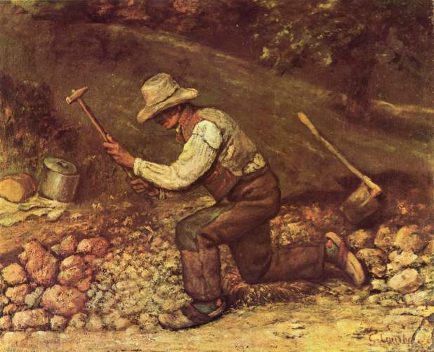 Courbet - The Stonebreaker - 1849