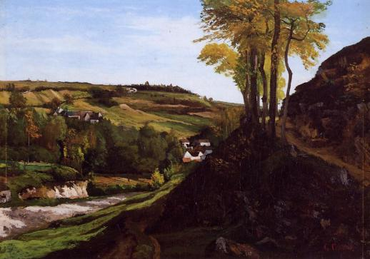 Courbet - Valley of Ornans - 1858