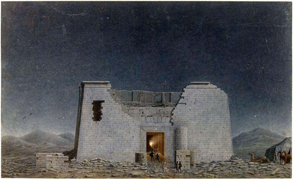 Fayoum_-_Temple_égyptien_-_Jomard_(1798)
