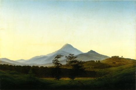 Friedrich - Bohemian Landscape - 1808