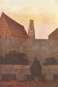 Friedrich - By the Town Wall - 1800