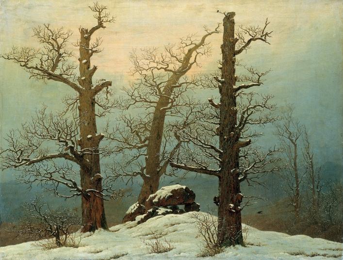 Friedrich - Dolmen in Snow - 1807