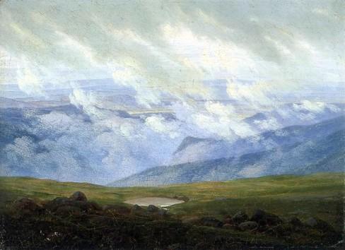 Friedrich - Drifting Clouds - 1820