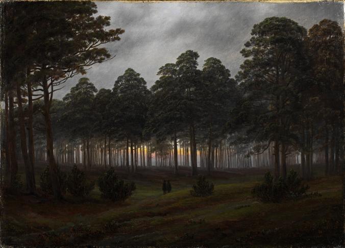 Friedrich - Evening - 1821