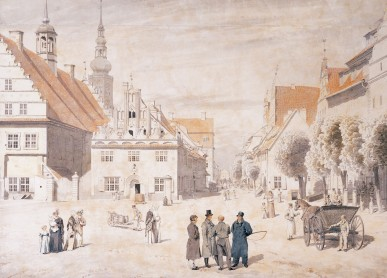 Friedrich - Greifswald Market - 1818