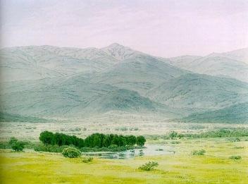 Friedrich - Landscape in the Riesengebirge - 1798