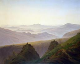 Friedrich - Morning in the Mountains - 1823