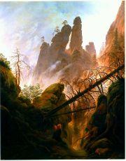 Friedrich - Rocky Ravine - 1823
