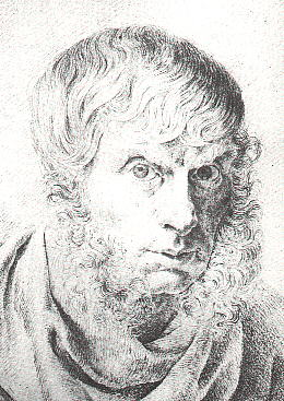 Friedrich - Self Portrait - 1810