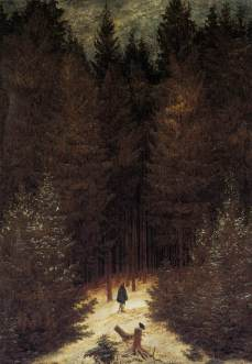 Friedrich - The Chasseur in the Forest - 1814
