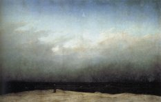 Friedrich - The Monk by the Sea - 1810
