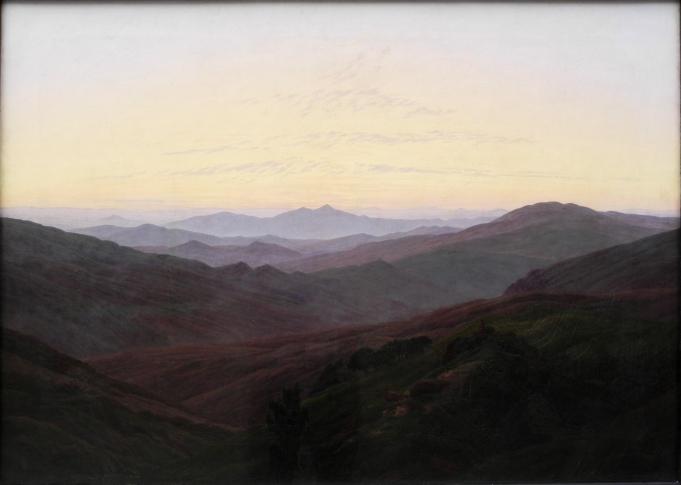 Friedrich - The Riesengbirge - 1835