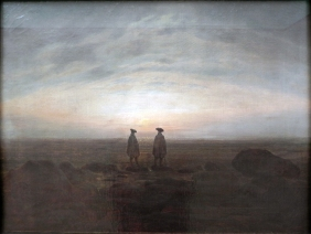Friedrich - Two Men by the Sea - 1817