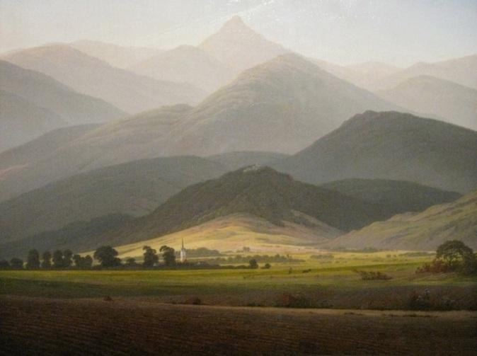 Friedrich - View from the Small Warmbrunn Sturmhaube - 1811