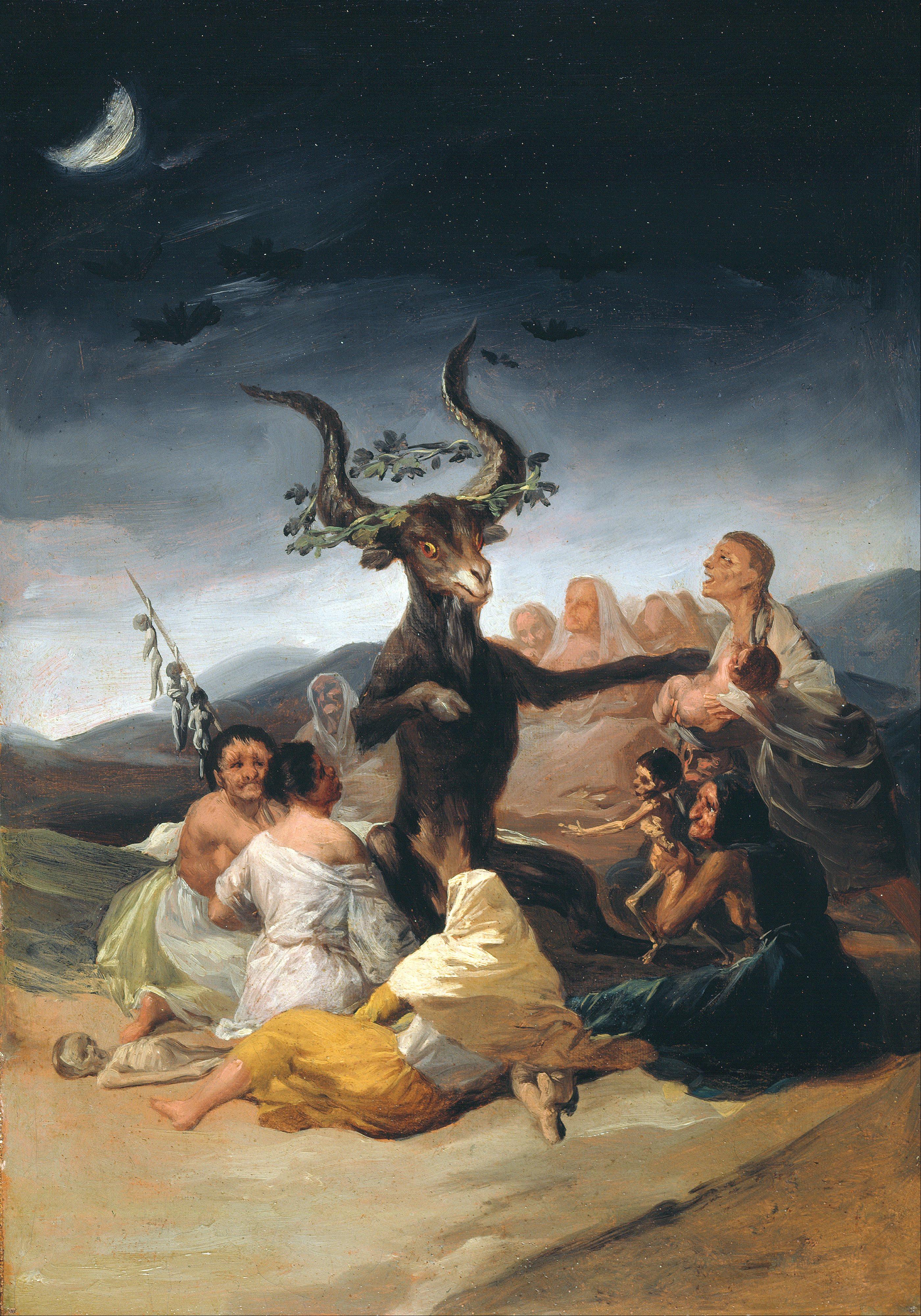 Goya - Witch's Sabbath - 1798