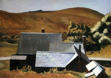 Hopper - Burly Cobb's House, South Truro - 1933