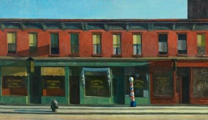 Hopper - Early Sunday Morning - 1930