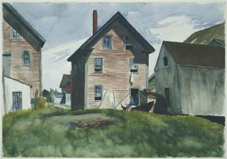 Hopper - Gloucester Mansion - 1924