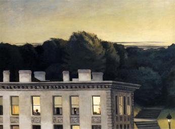 Hopper - House at Dusk - 1935