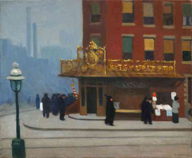 Hopper - New York Corner Saloon - 1913