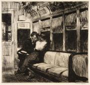 Hopper - Night on the El Train - 1918
