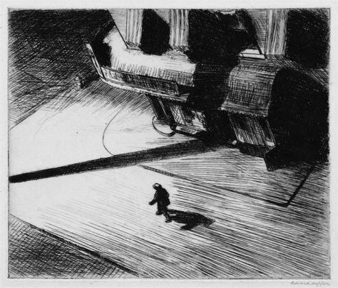 Hopper - Night Shadows - 1921