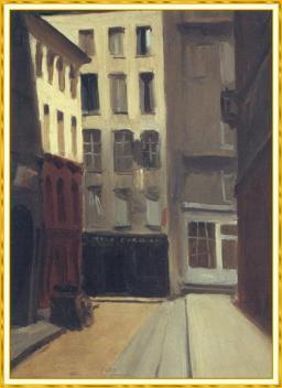 Hopper - Paris Street - 1906