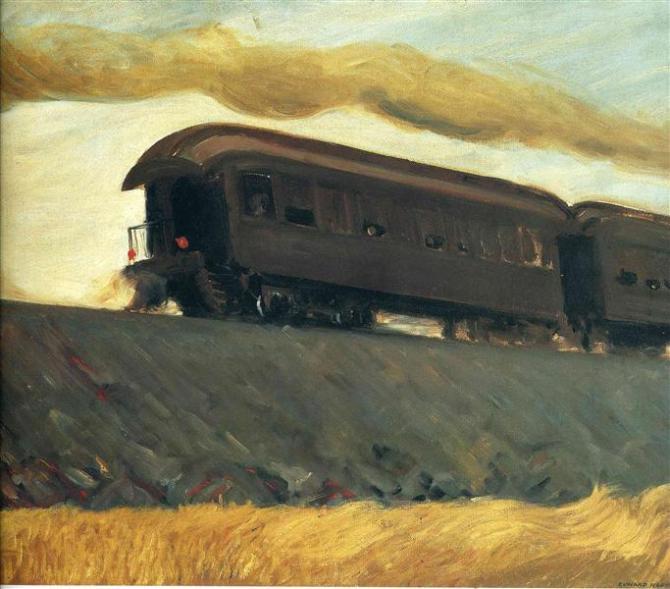 Hopper - Railroad Train - 1908