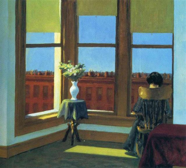 Hopper - Room in Brooklyn - 1932