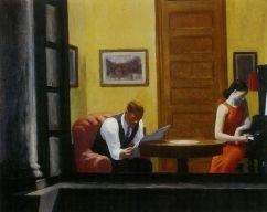 Hopper - Room in New York - 1940