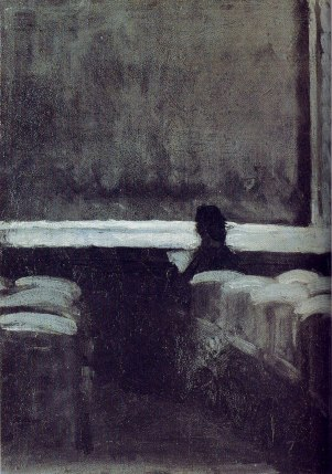 Hopper - Solitary Figure in Theater - 1903