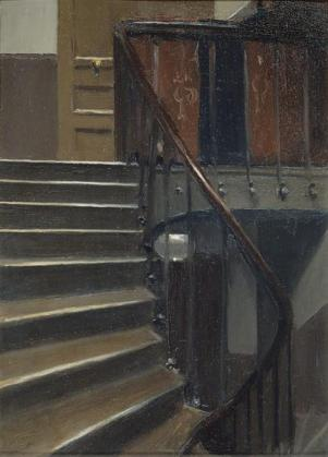 Hopper - Stairway at 48 rue de Lille Paris - 1906