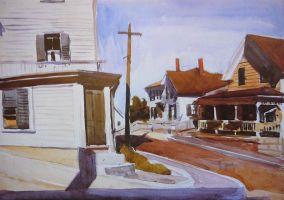 Hopper - Street Corner - 1923