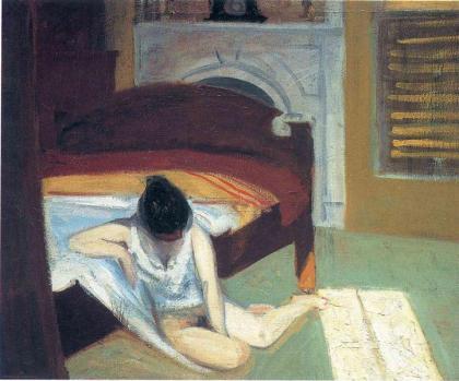Hopper - Summer Interior - 1909