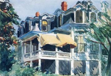 Hopper - The Mansard Roof - 1923