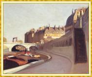 Hopper - The Quai des Grands Augustins- 1909